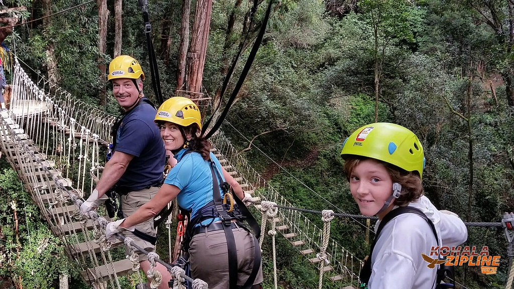 Sis' Favorite Part: The Rope Bridges