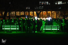 Lumiere London - Lightbenches / Bernard Spiecker