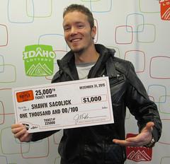 Shawn Sacolick - $1,000 Idaho $1,000,000 Raffle