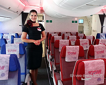 TAM Tripulante Economy A350 (RD)