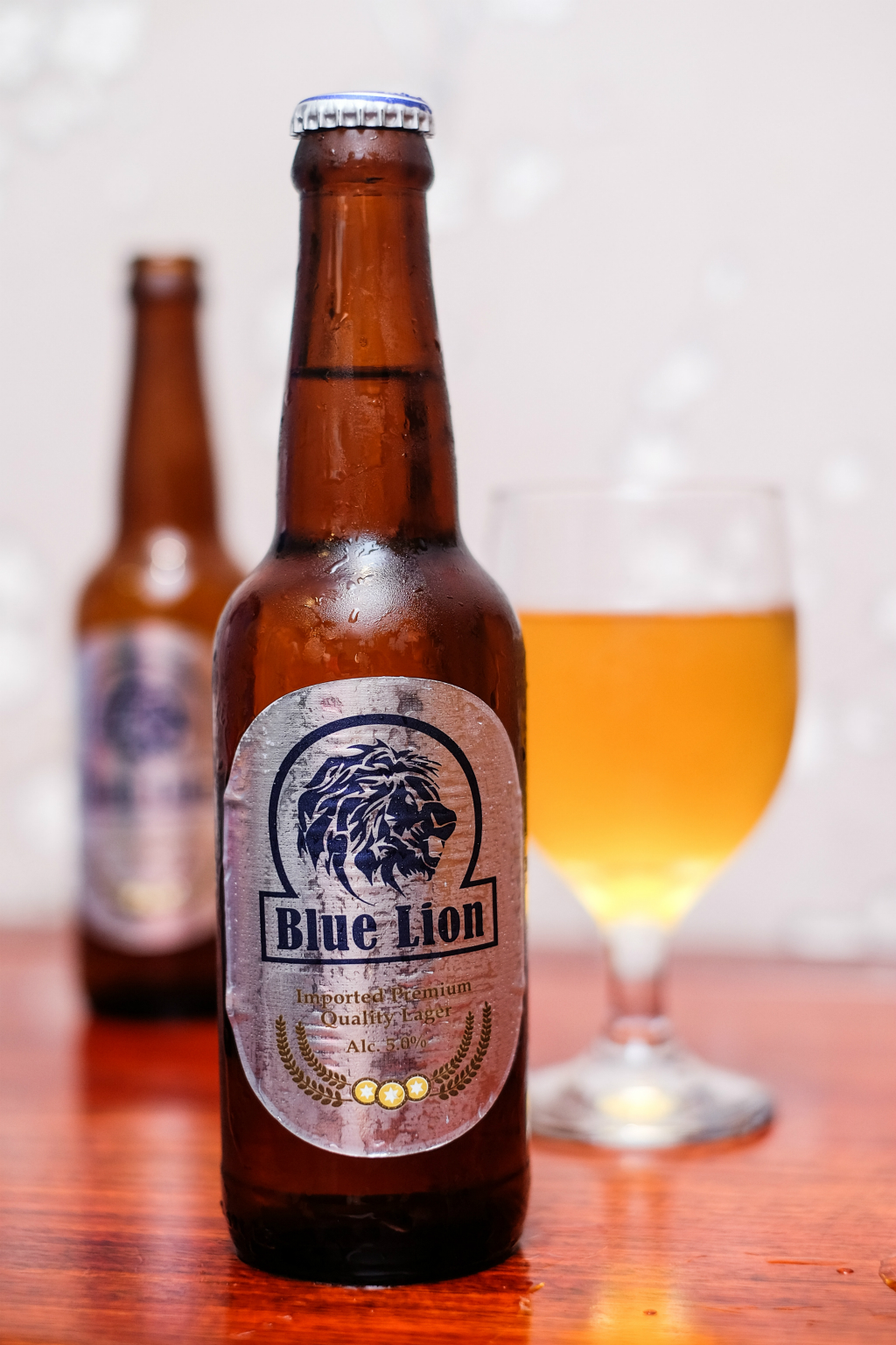 Blue Lion Beer