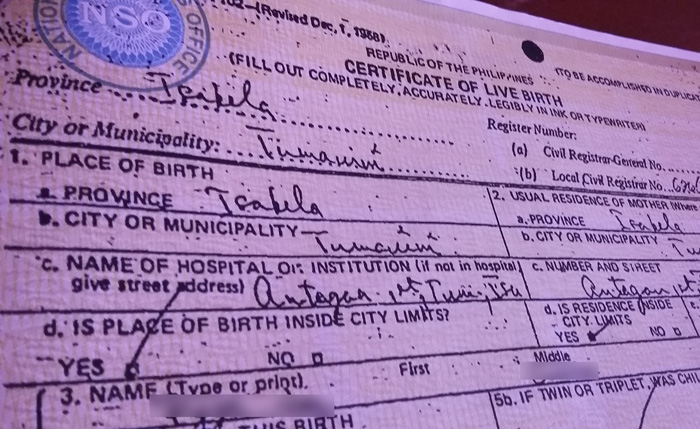 Correct Erroneous Entries in Birth Certificate