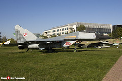 4115 - N50903006526 - Polish Air Force - Mikoyan-Gurevich MiG-29UB - Polish Aviation Musuem - Krakow, Poland - 151010 - Steven Gray - IMG_0543