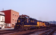 B&O 4000 WM 5951 B&O 3757 WB Coal at Baltimore St