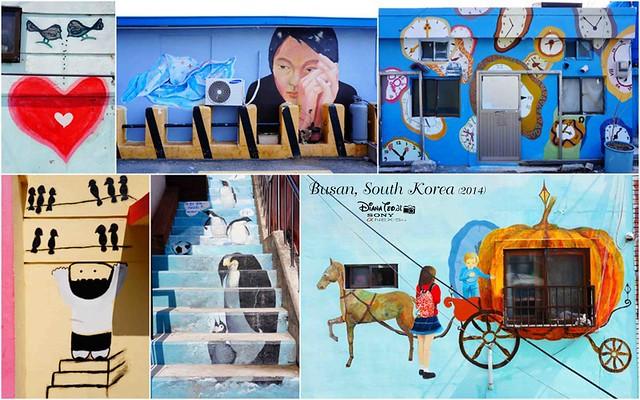 South Korea 2014 - Day 02 Busan Gamcheon Culture Village 10