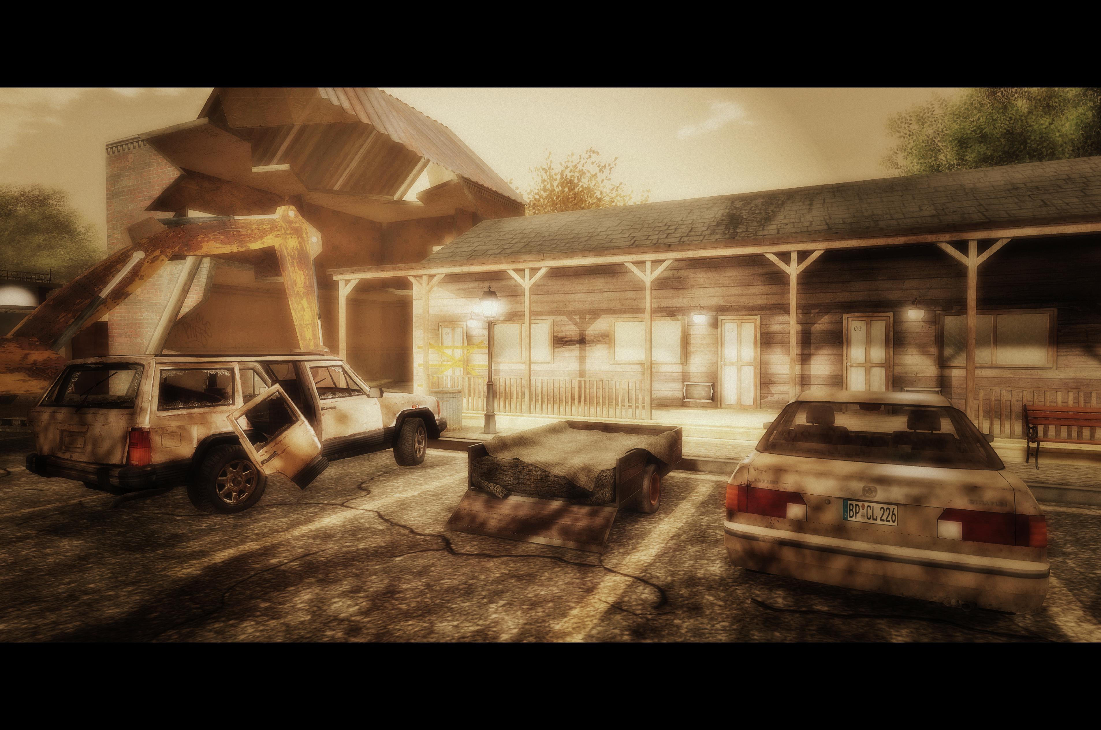 Badford - Parkplatz Motel