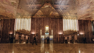 Inside Chrysler Building