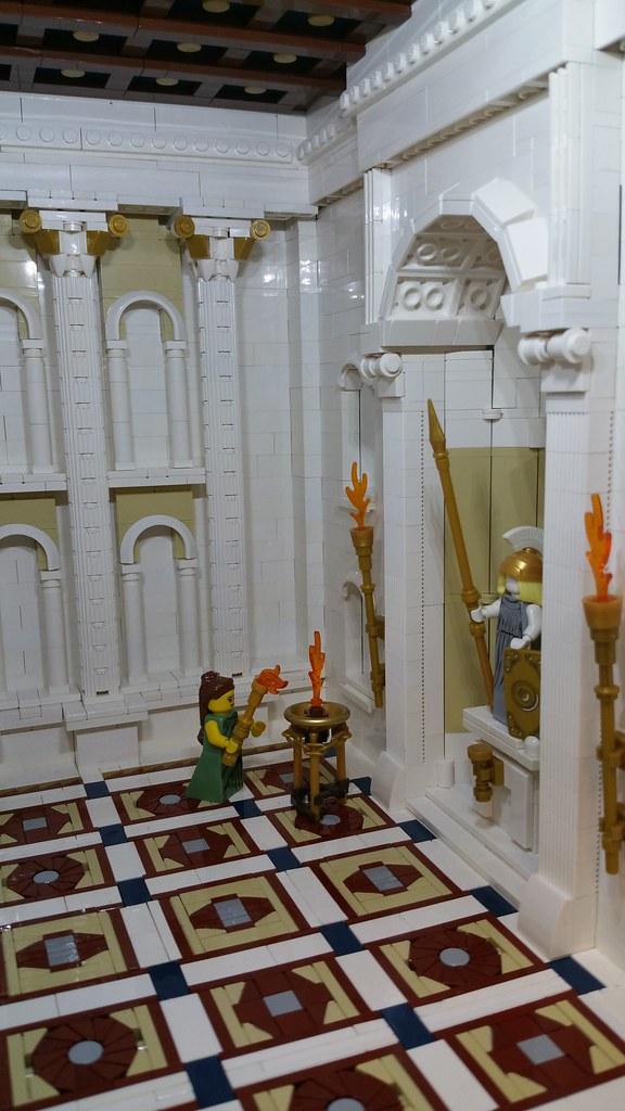Temple of Minerva - Internal view