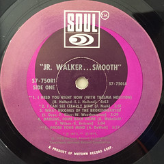 JR WALKER:SMOOTH(LABEL SIDE-A)