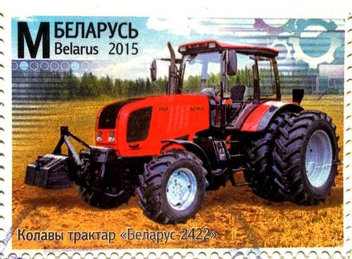 Belarus stamp - Belarus tractor