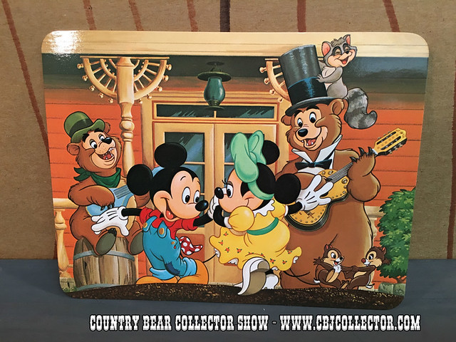 Disneyland Country Bear Jamboree Postcard - Country Bear Collector Show #024