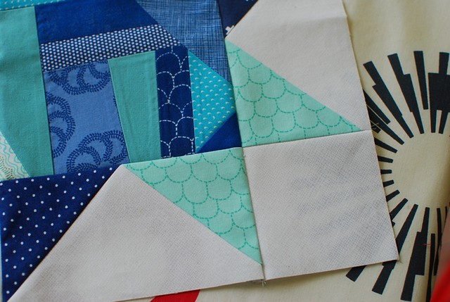 pat sloan christa block using my fabric