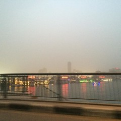 #Cairo earlier before the storm #blogger #citizenjounalism #Nile