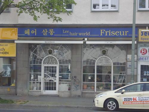 Koreanischer Friseur