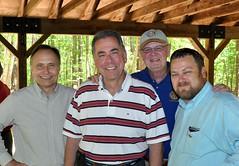 Ken Brown, Scott Tarkenton, Ed Smallwood and Steven Nelson.