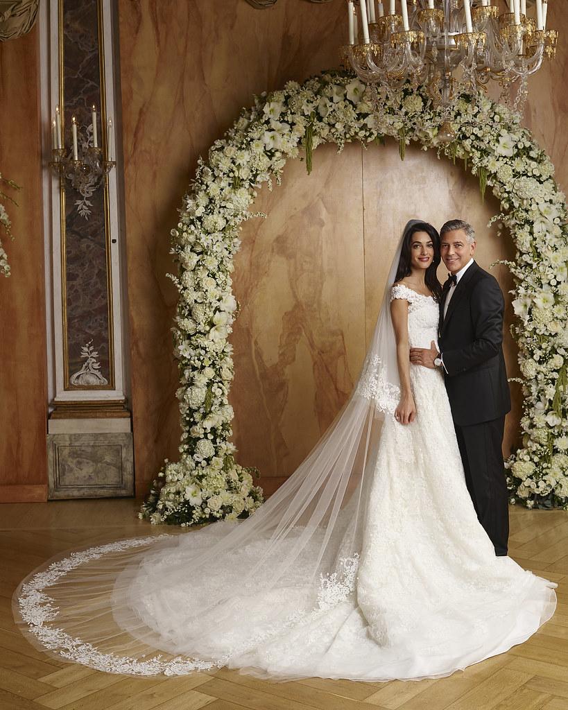 Фотографии свадьбы Джорджа Клуни