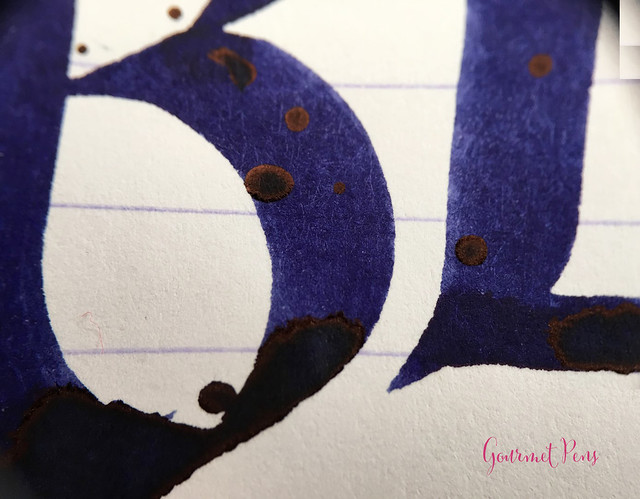 Ink Shot Review Diamine 150th Anniversary Regency Blue (7)