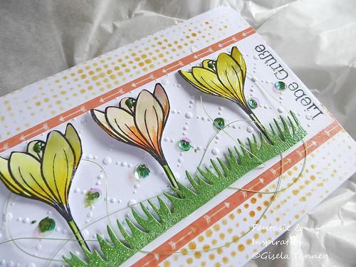Bastelstunde - auf der Frühlingswiese -