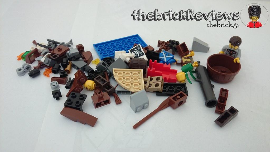 ThebrickReview: LEGO 70409 Shipwreck Defense (Pic Heavy!) 26265358071_1d99b3af5c_b