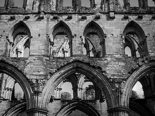 Εικόνα από Rievaulx Abbey. england abbey yorkshire north rievaulx fujifilm x30