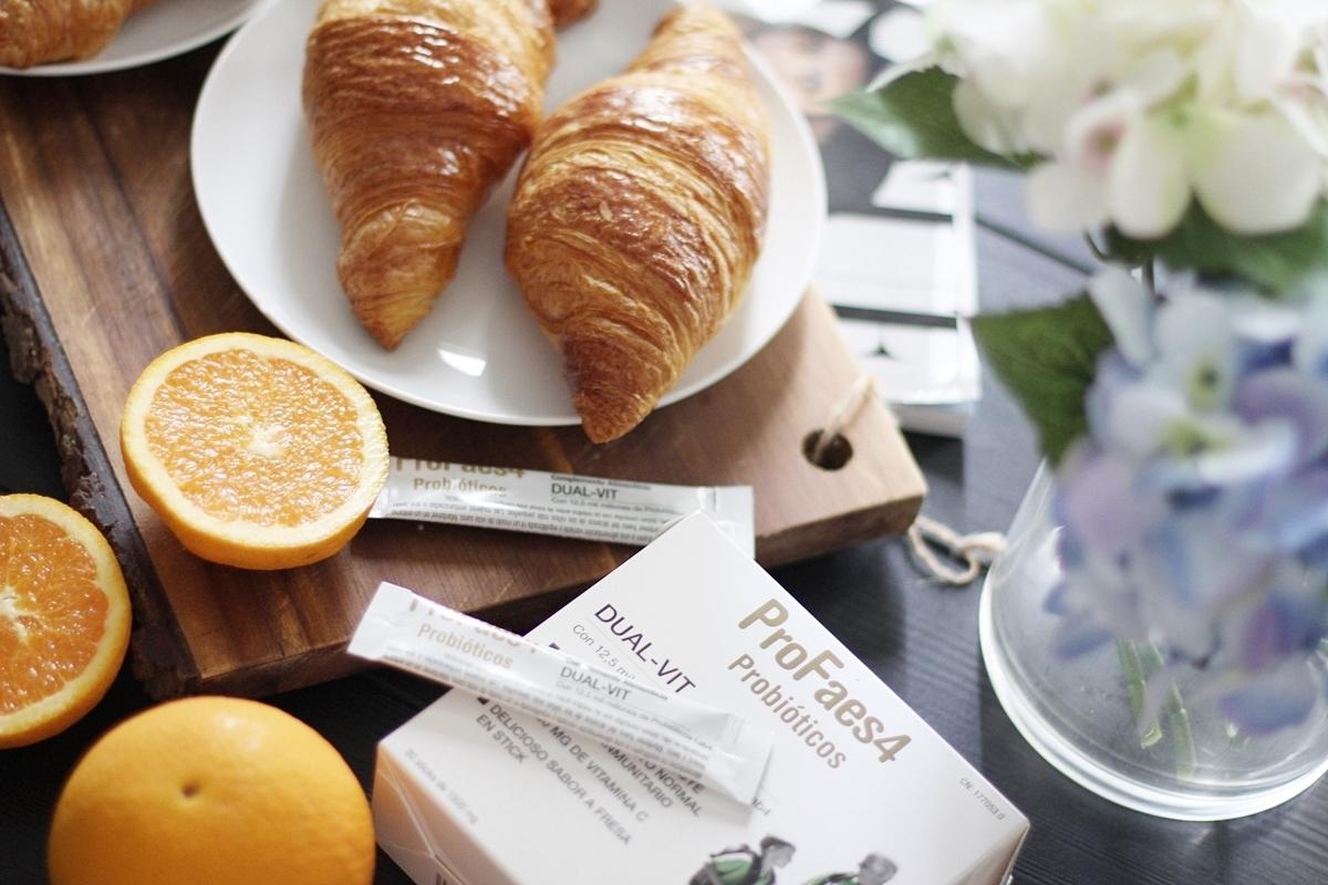 desayuno saludable y completo vitaminico de probioticos profaes4 dual vit 7