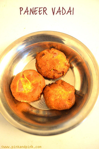 Paneer Vadai recipe