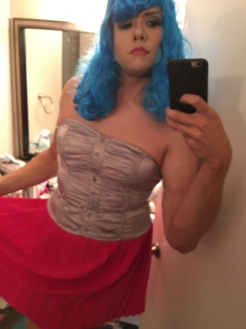 More out and about #sissy #sluts #forcedfeminization #crossdress #trans #trap #transgender