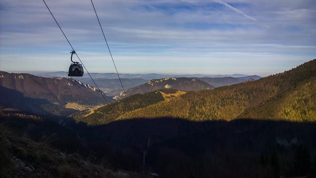 Hiking in Vrátna-Chleb