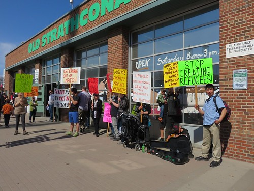 ECAWAR Picket: No Arms Sales to Saudi Arabia