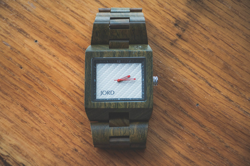 Not Another Tie: JORD Delmar Drift Wood Watch