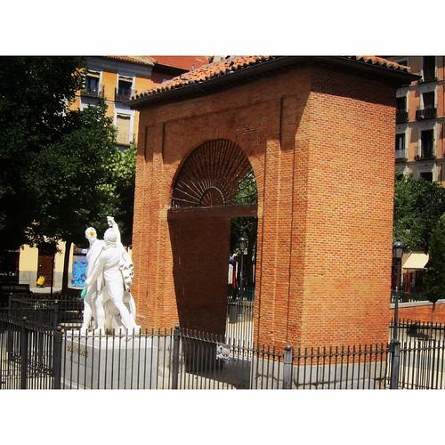 Plaza del Dos de Mayo, Malasaña. Madrid
