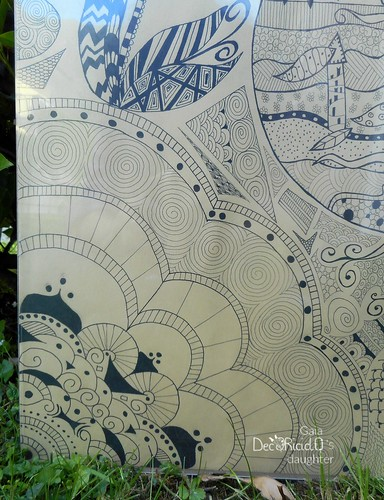 quadro zentangle 2