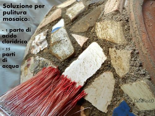 vaso terracotta con mosaico ricicloso 11