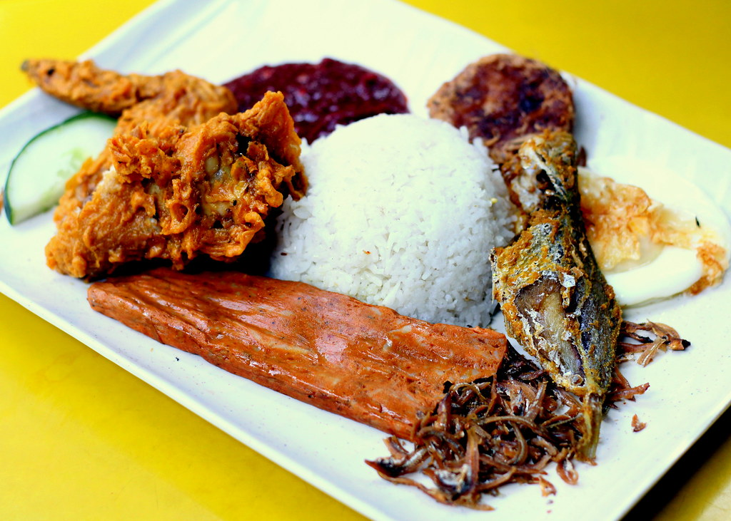 Downtown MRT Line Hawker Food: Selera Rasa Nasi Lemak Royal Rumble Set Meal