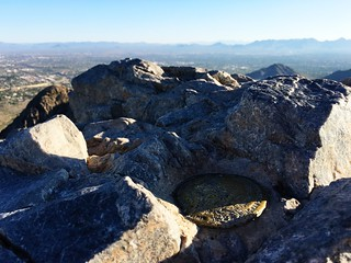 The run up 2,608-foot Piestewa Peak, the second highest point in the Phoenix Mountains