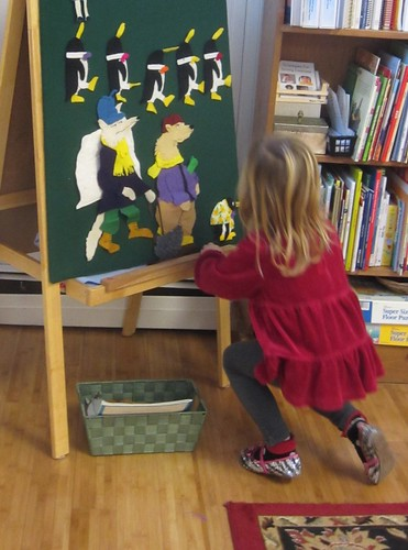 Tacky the Penguin flannel board story