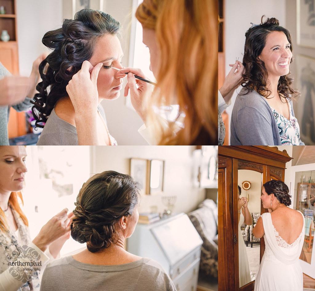 Getting Ready - Prince George BC Wedding