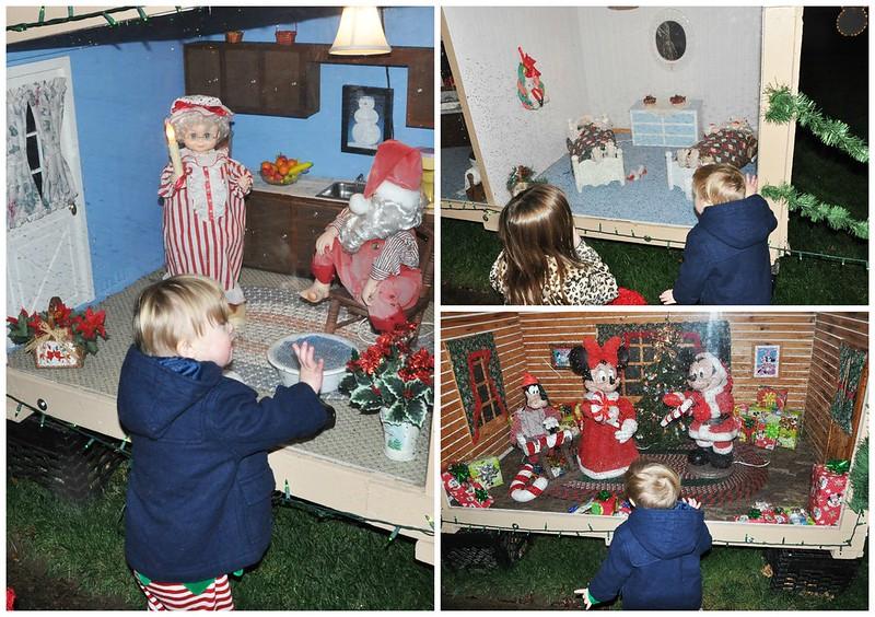 Christmas Light Boxes