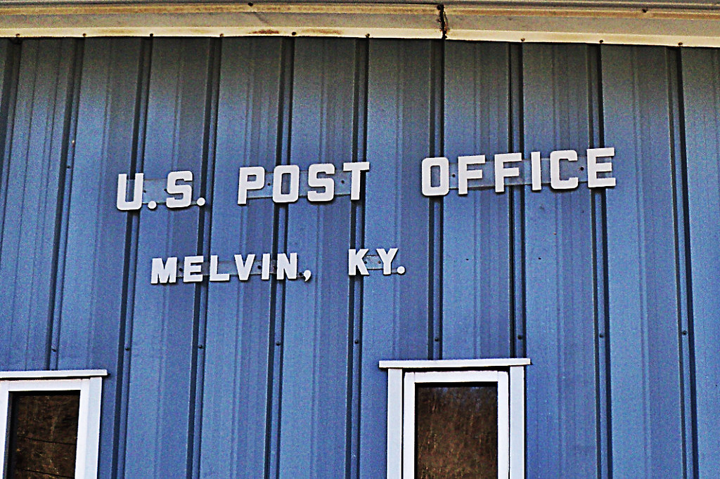 US Post Office -- Melvin, KY