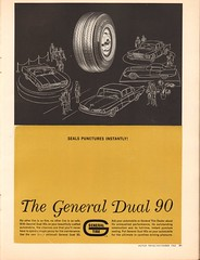 1962 General Tire Dual 90 Advertisement Motor Trend November 1962