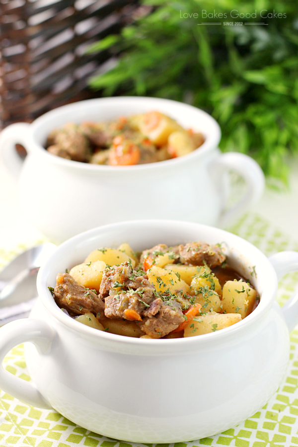 Best Ever Beef Stew is a perfectly seasoned, comforting, hearty dish full of tender beef, potatoes, carrots, celery, and savory broth! Your family will come running for dinner!