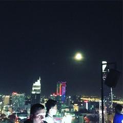 月がきれいです
