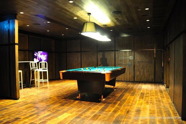 Game Room at pentalounge pentahotel