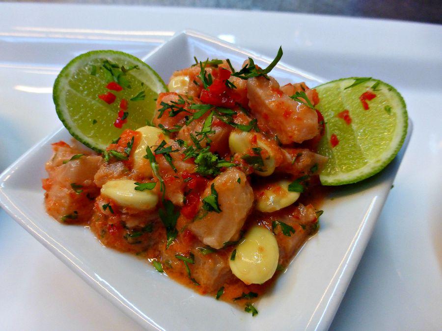 Peruvian Fish Ceviche