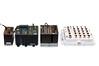 産業用スイッチ - Cisco Industrial Ethernet シリーズ (左からIE2k、IE3k、IE4k、白筐体 IE2K IP67)