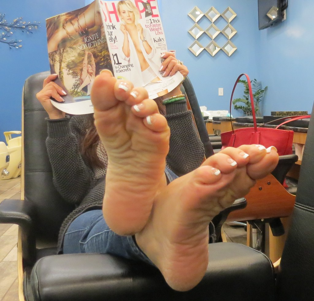 Mature Asian Foot Worship