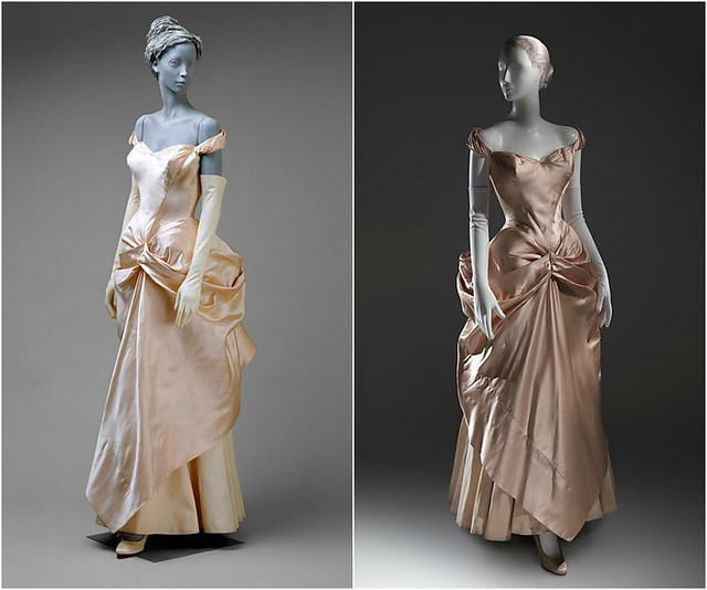 Robe de mariée, Charles James, 1948-49