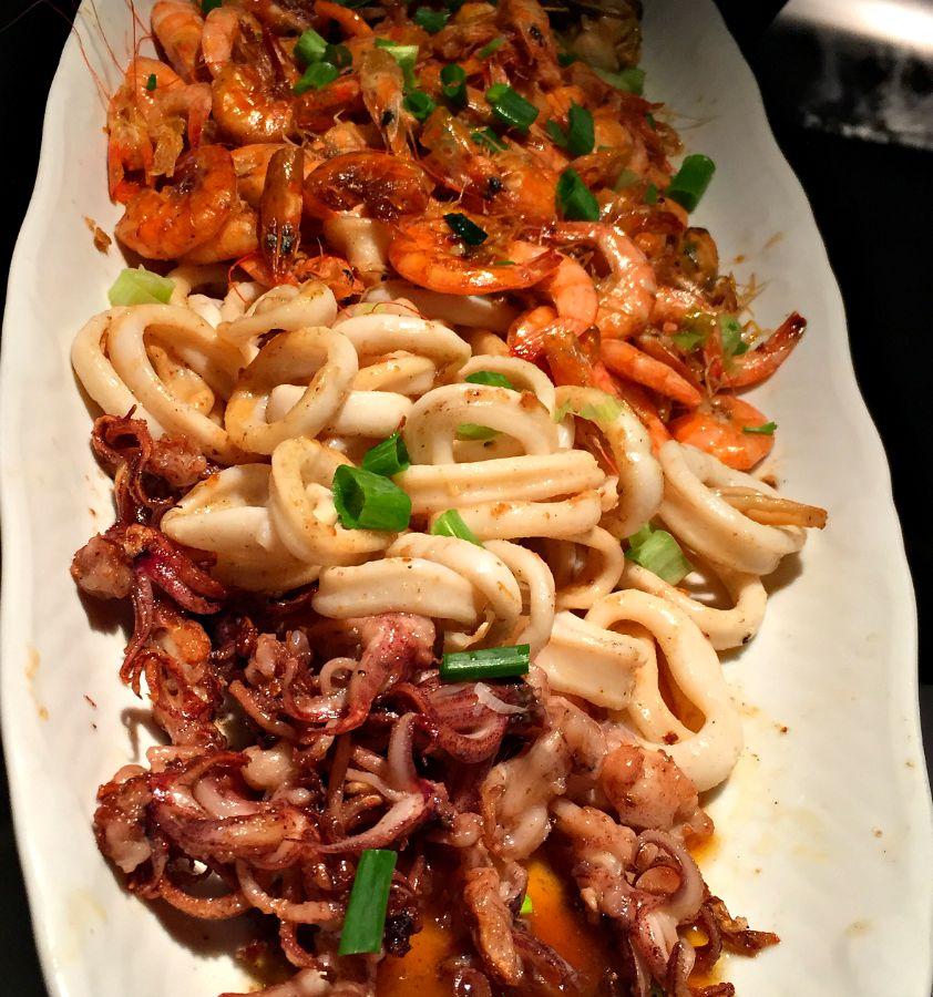 Churrascaria Palace Seafood Platter