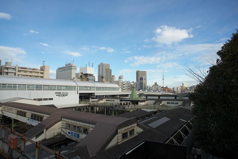 Tokyo Train Story 京成スカイライナーと東京スカイツリー 2016年2月13日