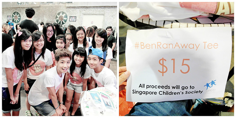benranaway Fundraising Project: Singapore Children's Society